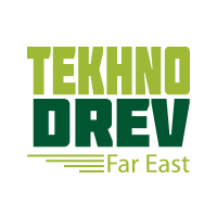 TekhnoDrev Far East -messulogo